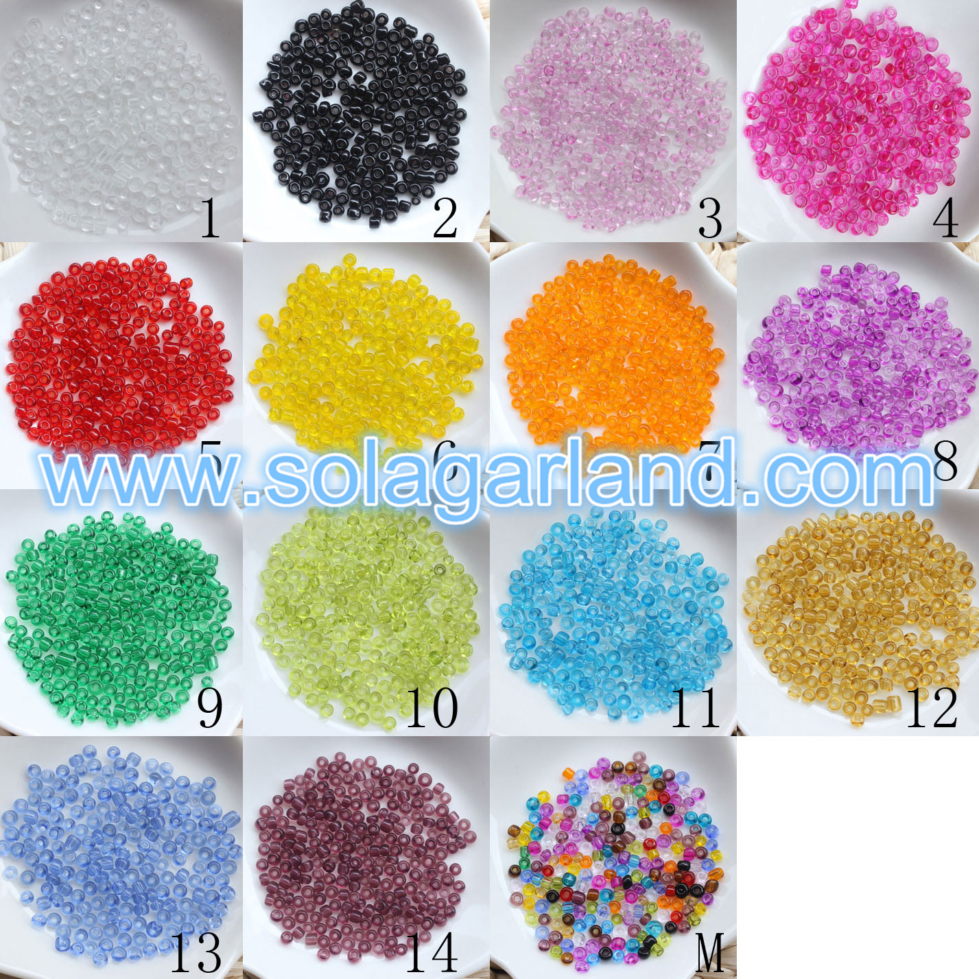 3MM Czech Glass Seed Beads