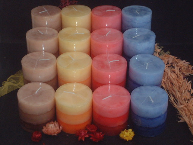 Various Colors of Candle
