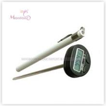 Thermomètres extérieurs de nourriture d'acier inoxydable de cuisinier (20 × 216mm)
