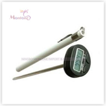Termômetros de alimentos de aço inoxidável para cozimento ao ar livre (20 × 216mm)