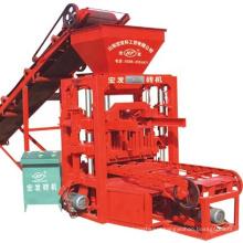 Manual block machine low price block making machine QT4-26C hollow concrete cement block making machine