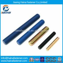 China Supplier B7 B7M stud bolt / Dacromet thread rod