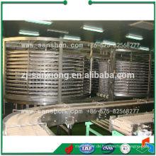 China Food Schnell Gefriermaschine Spiral Gefrierschrank