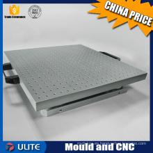 Mecanizado del CNC del precio bajo de China para la pieza de la tirada del aire comprimido y el componente del proceso del alambre