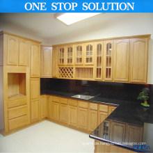 Nordamerikanische Standard-schwarze Arbeitsplatte Küchenschränke