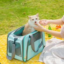 Pet Bag Pet Supplies Cat Bag Pet Handbag Breathable Big Outing Pet Bag