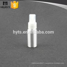 perfume used mini spray aluminium bottle manufacturer