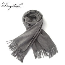 Super Soft Unisex Pashmina Shawl Grey Color Cashmere Scarf For Women And Men