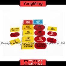 Crystal Casino Poker marcador (YM-dB02)