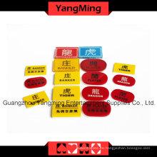 Marcador de Crystal Casino Poker (YM-dB02)