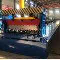 Decking panel roll forming floor decking machine