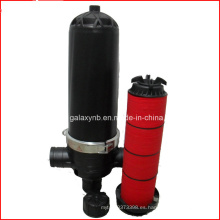 Durable filtro de disco de plástico de 3 pulgadas para riego