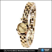 Relojes de cuarzo reloj de cuarzo de acero inoxidable japan movt