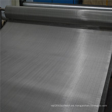 Malla de alambre del filtro del acero inoxidable de 40 micrones 304L