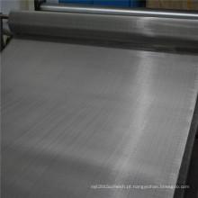 Malha de arame de aço inoxidável do filtro de 40 mícrons 304L