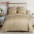 Venda quente loja online HOTEL e hospital roupa de cama 1-3 cm stripe têxtil da fonte de Sufang