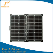 60watt Portable Solar Panel with High Efficiency (SGM-F-60W)