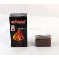 alta qualidade quadrados do cachimbo de água de coco carbono shisha coco carvão