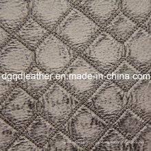 Moda acolchado decoración muebles cuero (QDL-51375)
