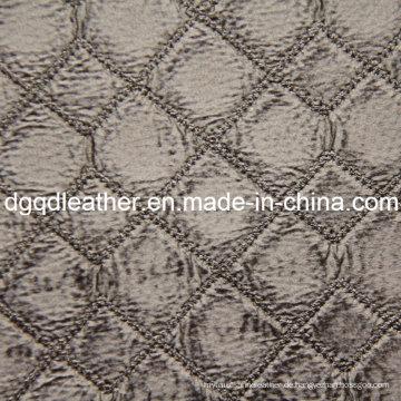Fashion Quilting Dekoration Möbel Leder (QDL-51375)