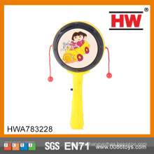 Интересная детская игрушка с тимблером Light Up Rattle drum