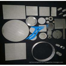 Malla de filtro de hoja perforada