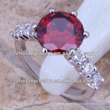 anillo de piedra artificial de la manera joyería de arroz muy barato