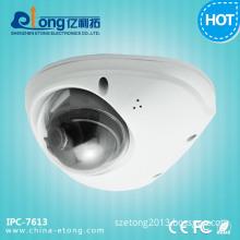 1.3 Megapixel Video Surveillance H. 264 Motion Detect White Dome Solar IP Camera Ipc-7613