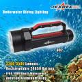 Lámpara subacuática subacuática del salto de 3500lm del alto brillo