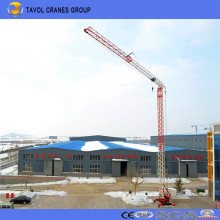 China Qtk20 2ton Model Fast Erection Tower Crane Supplier with Best Quality