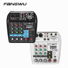 New Design Small Sound Mixing Desk Mixer