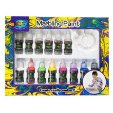 Nuevo estilo Original marble marbling paint diy craft