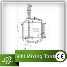 Mixing Tank and Vodka Tank
