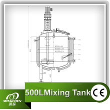 Tanque de mistura e tanque de vodka