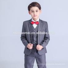 2016 bebê menino ternos de casamento formal bebê menino conjunto de roupas para a acolchoada formal do bebê menino terno atacado