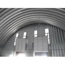 Machine de construction de toit en courbe à vis à vis Bh