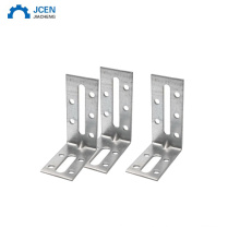 New Products L Type Flat Metal Corner Braces Angle Brackets Plate Connector