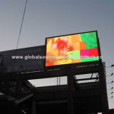 LED panels, installed near the highway for outdoor advertising useNew