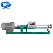 High Quality for Mono Single Screw Pump Stainless steel thick tomato paste pump export to Botswana Suppliers