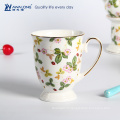 La plus nouvelle tasse de café en porc avec thé traditionnel en porcelaine anglaise
