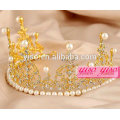 new year wedding crystal golden royal pageant crowns tiaras