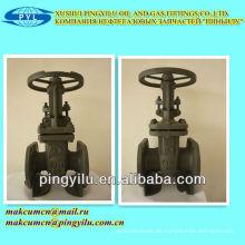 Válvulas de compresión estándar PN16 de vapor de alta presión ruso