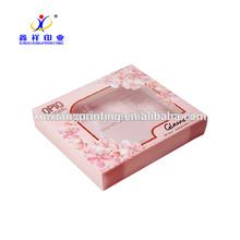 Customized Size!Custom design handmade paper cosmetic gift set packaging box