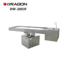 ДГ-2003F нержавеющей стали подъема вращения мощных судебно-анатомического стола