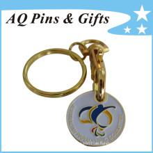 Schlüsselanhänger mit weicher Emaille (Schlüsselanhänger-139)