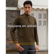 anti-pilling cashmere blended man's sweater pullover