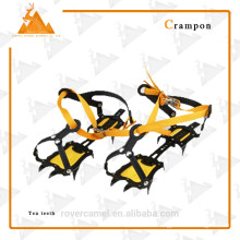 climbing ice crampons hinged crampon safety crampon