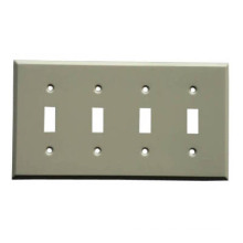Cubiertas de chapa de acero de interruptor de luz (JX065)