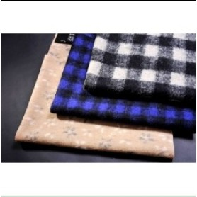 Selling Jacquard Knitted Woolen Fabric Faux Fur