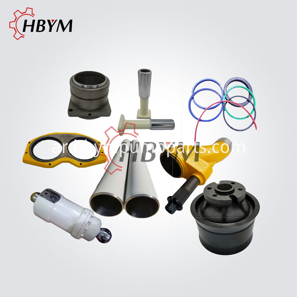 PM concrete spare parts